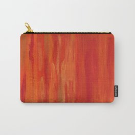 Red abstract painting Carry-All Pouch