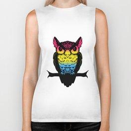 Pan Owl Biker Tank
