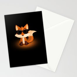 Cool Fox Stationery Cards