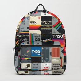 Blank VHS Covers Backpack