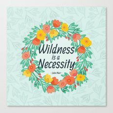 Floral Wildness Canvas Print