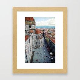 Florence Cathedral Framed Art Print