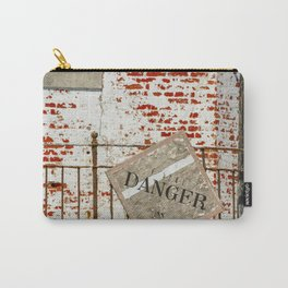 Danger Sign Carry-All Pouch