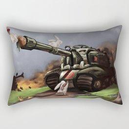 Bunny Crossing Rectangular Pillow