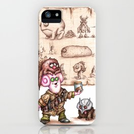 Zlozz and his Poo! iPhone Case