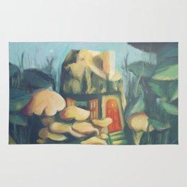Mushroom House Rug