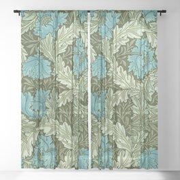"""William Morris """"Wreath"""" (edited 1) Sheer Curtain"""