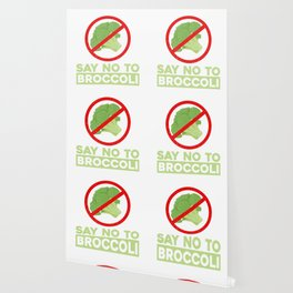Say No To Broccoli Vegetables Meat Lover Wallpaper