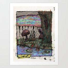 Beyond Recognition Art Print