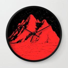 Pico rosso Wall Clock
