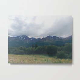 Talkeetna Mountains Metal Print