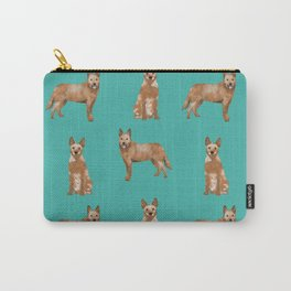 Australian Cattle Dog red heeler love dog breed gifts cattle dogs by pet friendly Carry-All Pouch