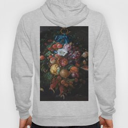 Dutch Floral Still life botanical print(digital download)PRINTABLE Art, botanical print, botanical Hoody