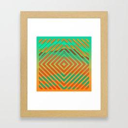 TOPOGRAPHY 2017-021 Framed Art Print