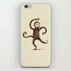 Silly Monkey! iPhone & iPod Skin
