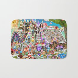 The Gingerbread Mansion Bath Mat