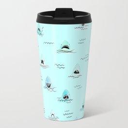 Sharkhead - Shark Pattern Travel Mug