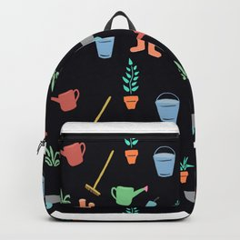 Simple Garden Theme digital painting colorful Backpack