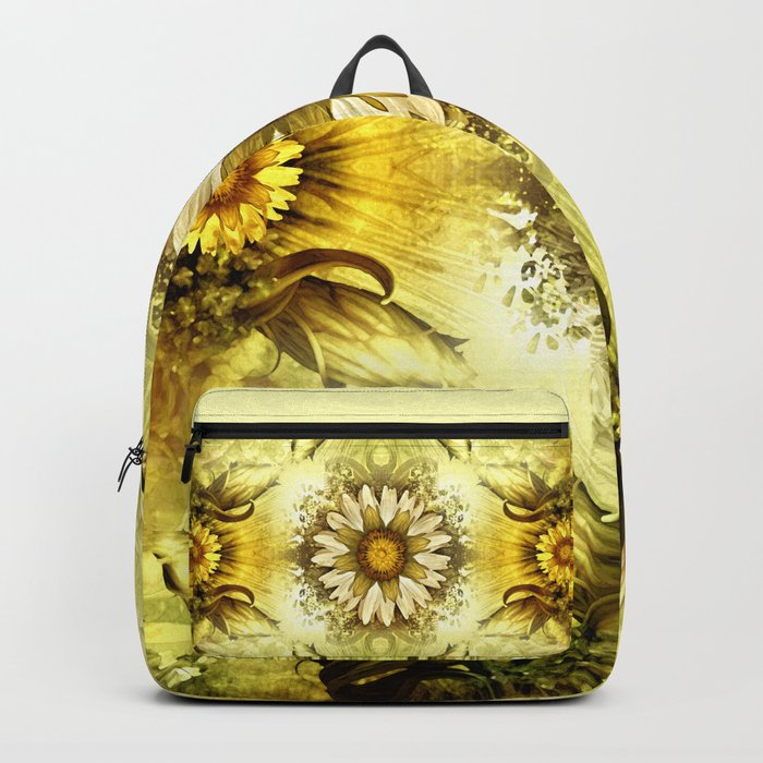 """Victorian Garden Spring Flowers"" Backpack"