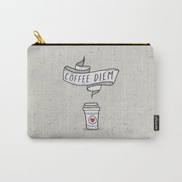 Coffee Diem Carry-All Pouch