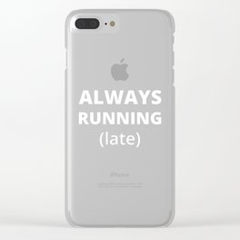 The Guilty Person I Clear iPhone Case