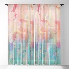 Forest Dreams Sheer Curtain