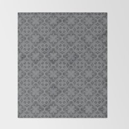 Sharkskin Shadows Throw Blanket