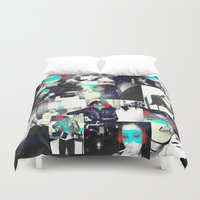 smoke Duvet Covers featuring Smoke by victorygarlic