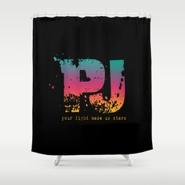 PJ - Your Light Made Us Stars Shower Curtain