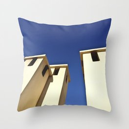 Blue sky, Morocco Throw Pillow