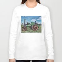 jem Long Sleeve T-shirts featuring Jem General Purpose Engine by Avril Harris