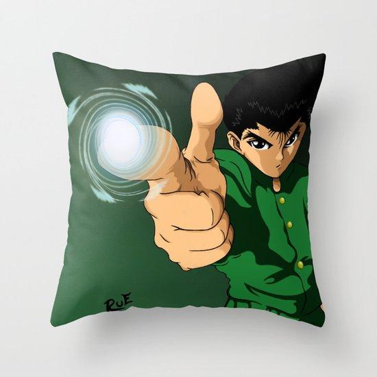 Yusuke Urameshi  Throw Pillow