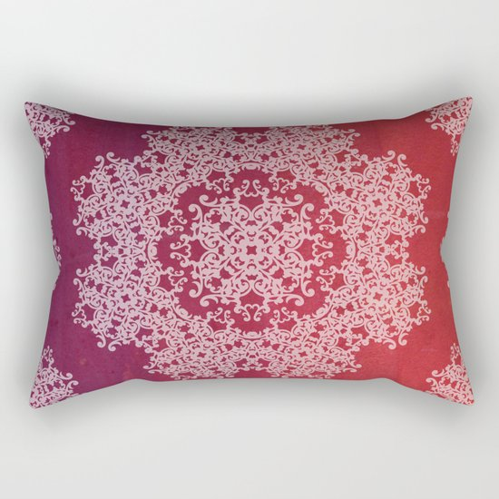 Playing with a lace - dresser from Grandma Rectangular Pillow