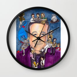 Robin Williams Wall Clock