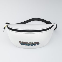 Groovy Vintage 70s Gift - 4th of July Gift American Flag Fanny Pack