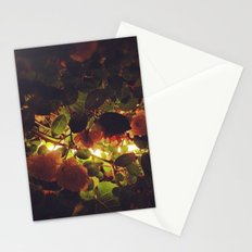Night Flowers Stationery Cards