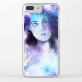 Flawed Perfection Clear iPhone Case