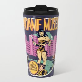 Herstory: Madame Muscle Travel Mug