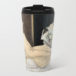 Edouard Manet - Olympia Travel Mug