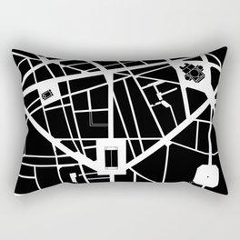 Madeleine-Opera-Vendome. Paris Rectangular Pillow