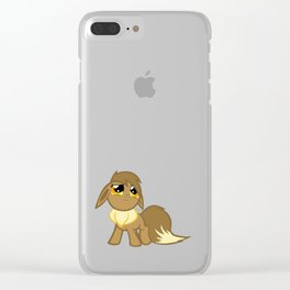 My Little Eevee Clear iPhone Case