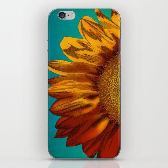 A Sunflower iPhone & iPod Skin