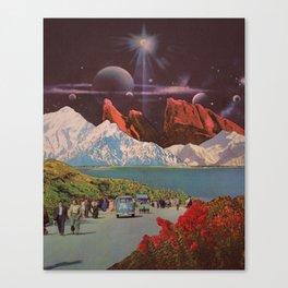 Interstellar Highway Canvas Print