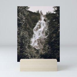 Waterfall III / Canada Mini Art Print