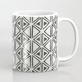Block Print Diamond Coffee Mug