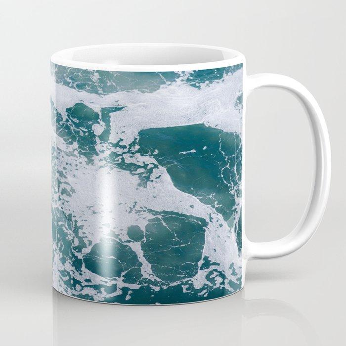 Ocean Marble #texture Coffee Mug