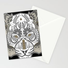 Zentangle Tiger 02  Stationery Cards