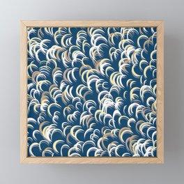 Eclipse Reflections Framed Mini Art Print