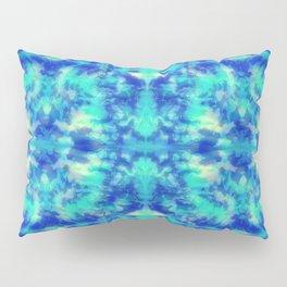 Blue Kaleidoscope Pillow Sham