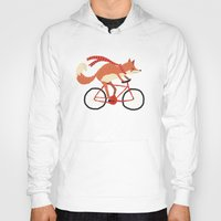 mr fox Hoodies featuring mr. fox by tesslucia